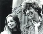 Tom Baker & Lalla Ward (Doctor Who) - Genuine Signed Autograph 7062